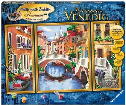 Verträumtes Venedig Malen nach Zahlen Sonderserie Premium