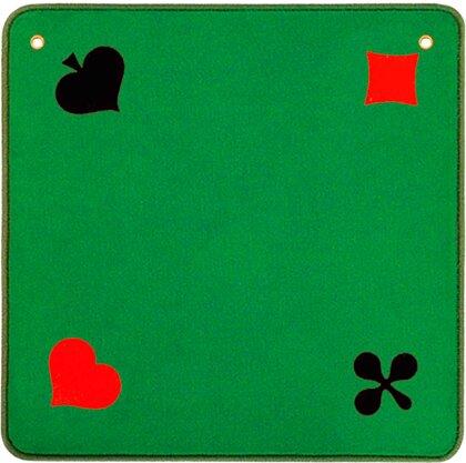Jassteppich grün Piquet - 60 x 60 cm