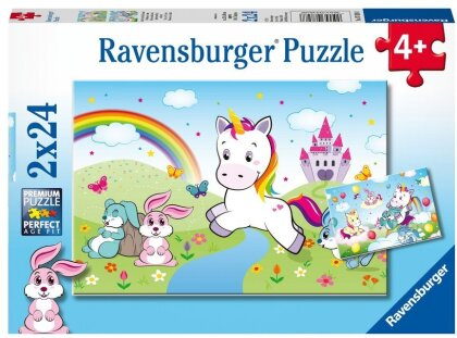 Märchenhaftes Einhorn (Kinderpuzzle)