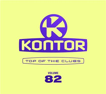 Kontor Top Of The Clubs Vol. 82 (Limited Edition, 4 CDs)