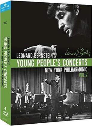 Leonard Bernstein (1918-1990) - Young People's Concerts - Vol. 2 (Unitel Classica, 4 Blu-rays)