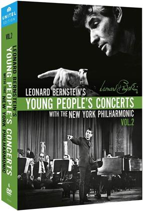 Leonard Bernstein (1918-1990) - Young People's Concerts - Vol. 2 (Unitel Classica, 6 DVDs)