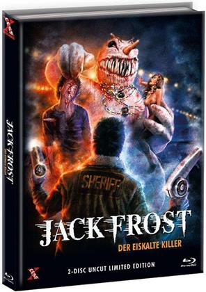 Jack Frost - Der eiskalte Killer (1997) (Cover E, Limited Edition, Mediabook, Uncut, Blu-ray + DVD)