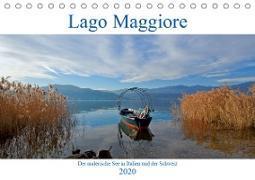 Lago Maggiore (Tischkalender 2020 DIN A5 quer)