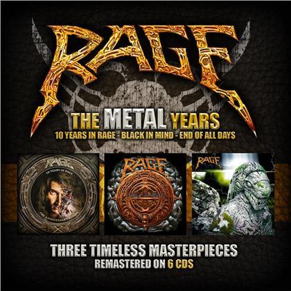 Rage - Metal Years (Dr. Bones, 6 CDs)