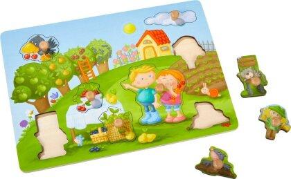 Greifpuzzle Obstgarten (Kinderpuzzle)