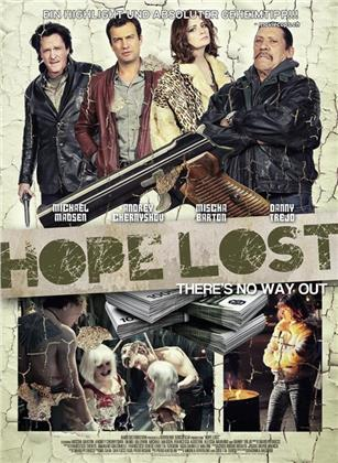 Hope Lost (2015) (Cover C, Limited Ultimate Edition, Mediabook, Uncut, Blu-ray + DVD)