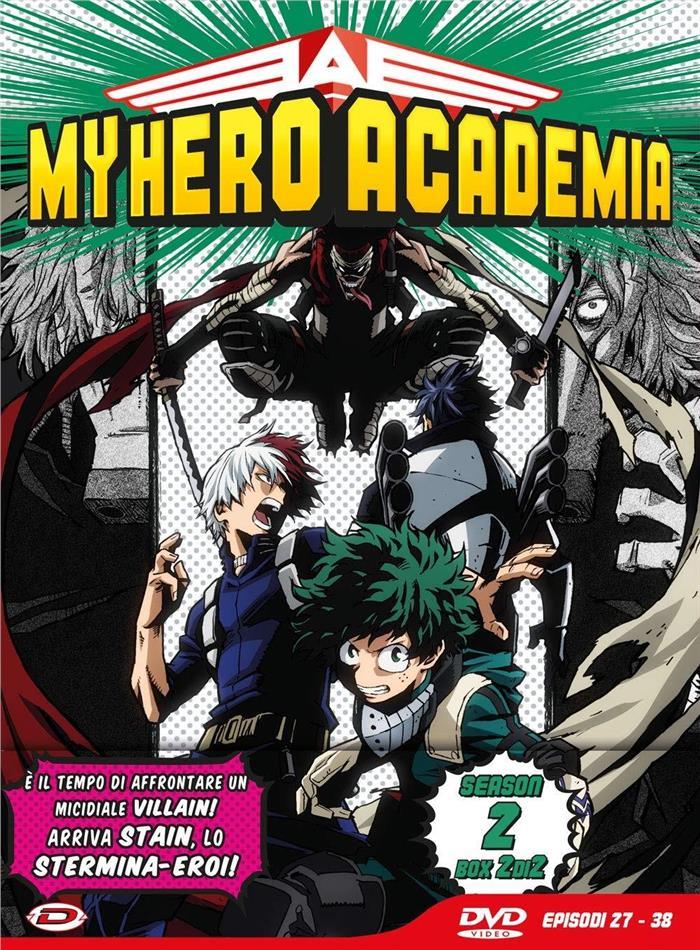 My Hero Academia - Stagione 2 - Box 2 (Edizione Limitata, 3 DVD)