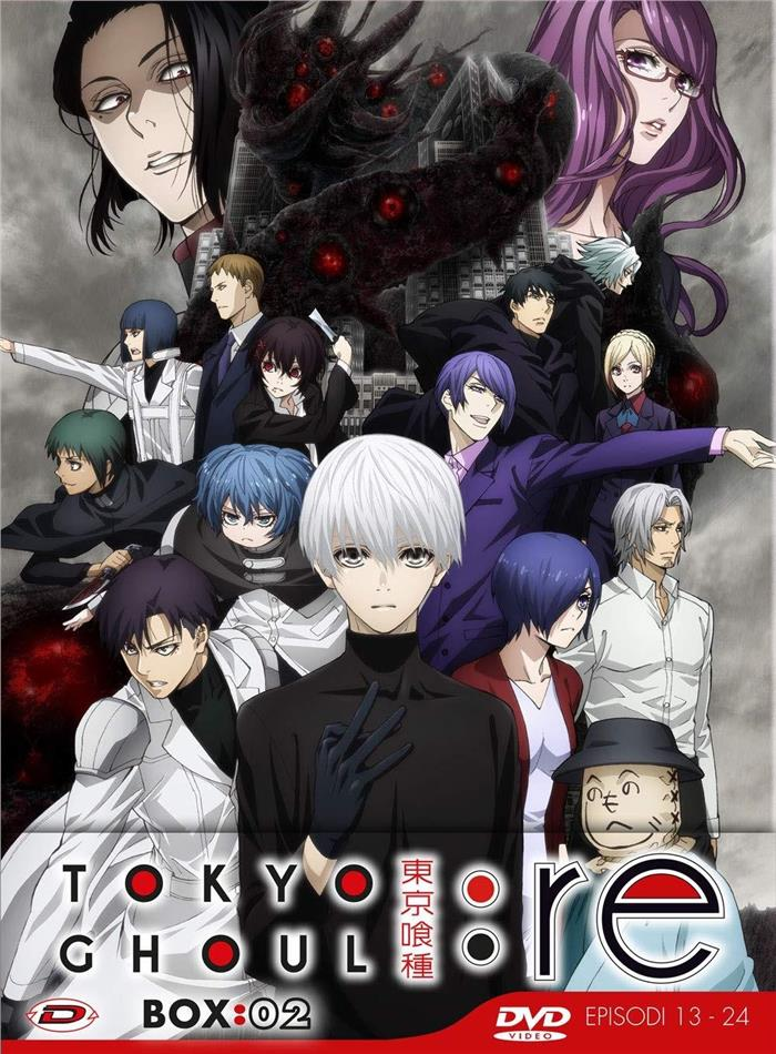 Tokyo Ghoul: Re - Stagione 3 - Box 2 (Edizione Limitata, 3 DVD)