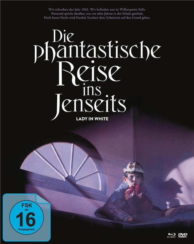 Die phantastische Reise ins Jenseits - Lady in White (1988) (Cover B, Mediabook, 2 Blu-rays + DVD)