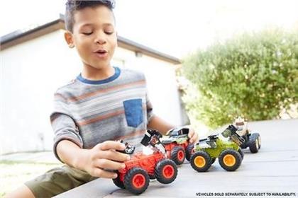 Hot Wheels - Monster Trucks: Bash Ups assortiert, 1 stück.