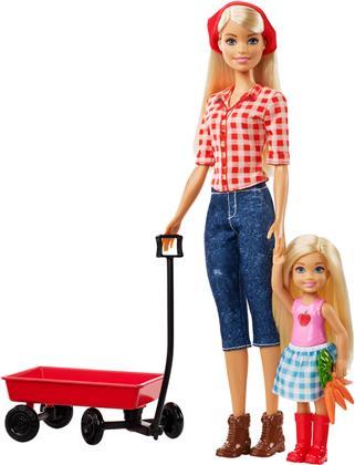Barbie Farm Barbie & Chelsea - Spass auf dem Bauernhof,