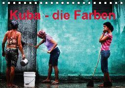 Kuba - die Farben (Tischkalender 2020 DIN A5 quer)