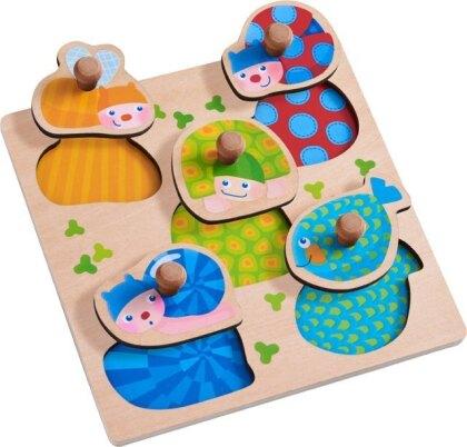 Greifpuzzle Bunte Tiere (Kinderpuzzle)