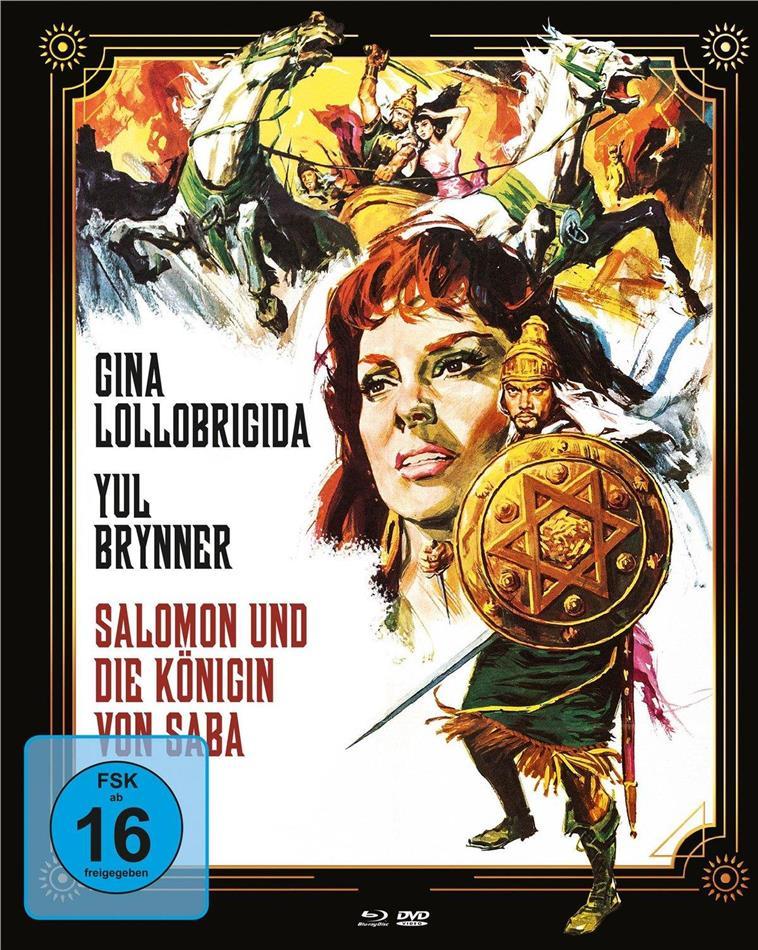 Salomon und die Königin von Saba (1959) (Cover A, Mediabook, Blu-ray + DVD)