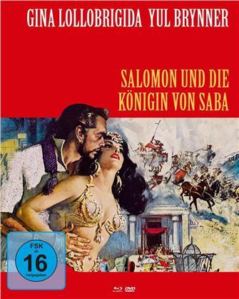 Salomon und die Königin von Saba (1959) (Cover B, Mediabook, Blu-ray + DVD)