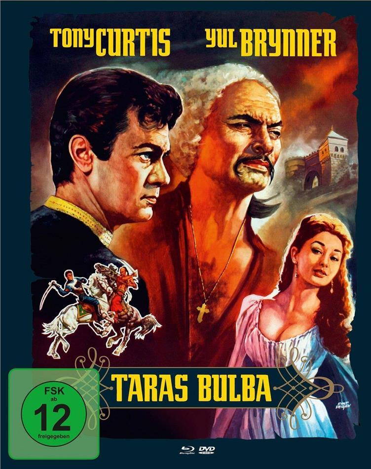 Taras Bulba (1962) (Cover B, Mediabook, Blu-ray + DVD)