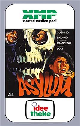 Asylum (1972) (Cover B, VHS-Edition, Grosse Hartbox, Limited Edition, Blu-ray + DVD)