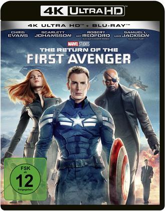 Captain America 2 - The Return of the First Avenger (2014) (4K Ultra HD + Blu-ray)