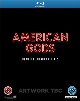 American Gods - Season 1 & 2 (7 Blu-ray)