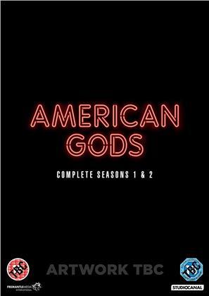 American Gods - Season 1 & 2 (7 DVD)