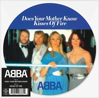 """ABBA - Does Your Mother Know 7Inch Picture Disc Ltd (Limited Edition, Colored, 7"""" Single)"""