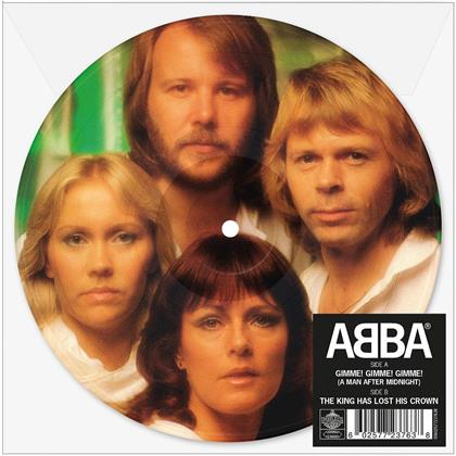 """ABBA - Gimme! Gimme! Gimme! (Limited Edition Picture Disc, Colored, 7"""" Single)"""