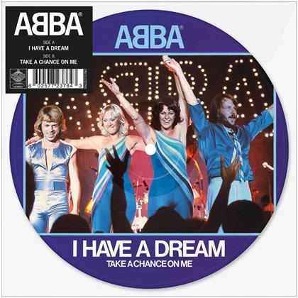 """ABBA - I Have A Dream (Limited Edition Picture Disc, Colored, 7"""" Single)"""