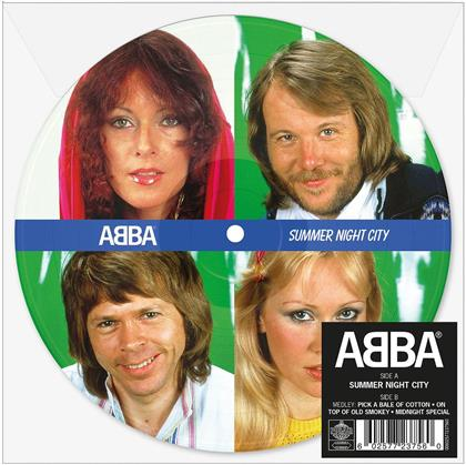 """ABBA - Summer Night City (Limited Edition Picture Disc, Colored, 7"""" Single)"""