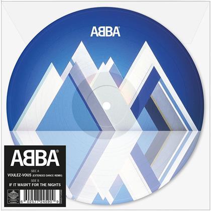 """ABBA - Voulez-Vous (Extended Dance Edition , Papersleeve Limited Edition, Limited Edition, Colored, 7"""" Single)"""