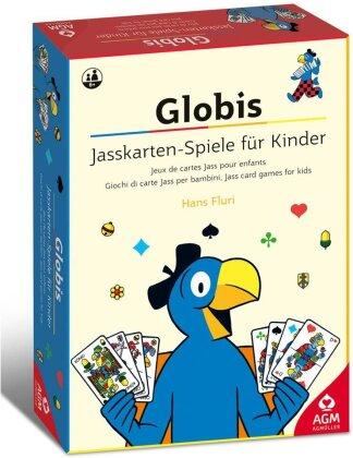 Globis Jasskarten-Spiele für Kinder