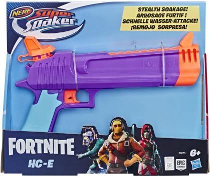 Super Soaker Fortnite HC E - Wasserblaster, Tank 218 ml,