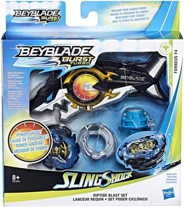 Beyblade Burst Turbo Riptide - Blast Set, Kreisel inkl.,