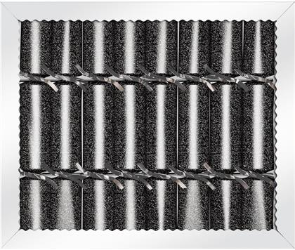 Knallbonbon Trend schwarz - 8 Stk. 22 cm