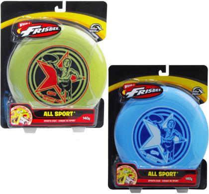 Frisbee All Sports 2-fach Assortiert - Ass. Ø 25 Cm, 140 G, 1 Stück