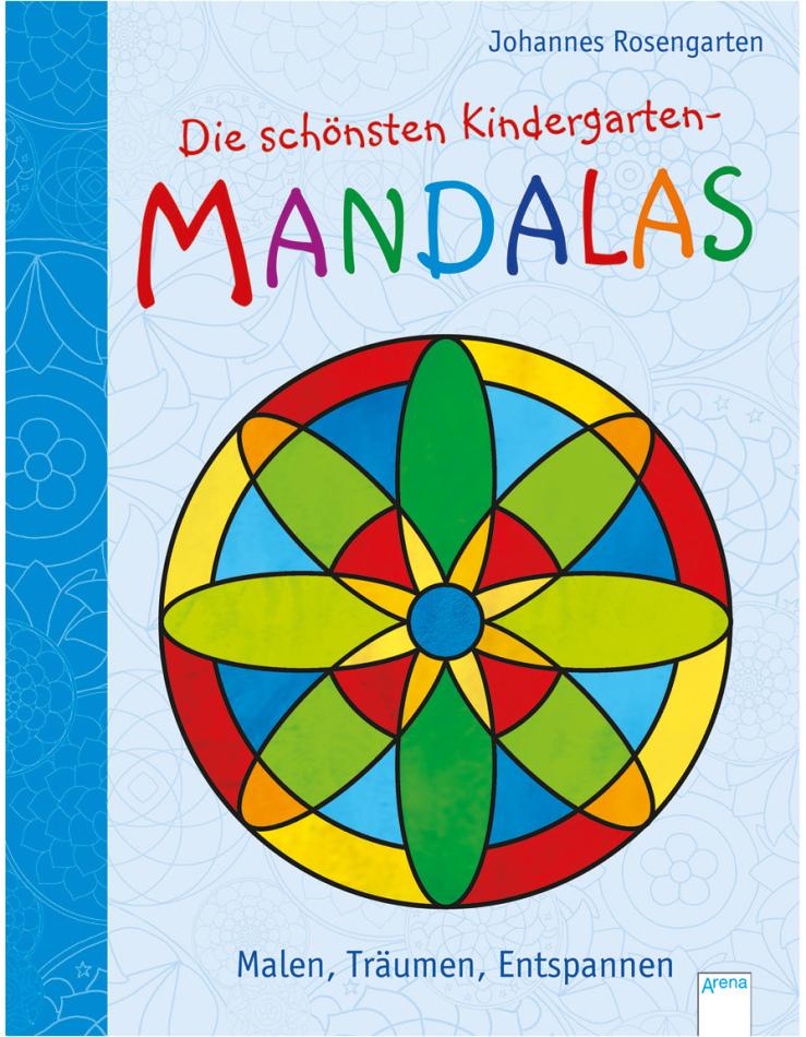 Die schönsten Mandalas - Malen, Träumen, Entspannen, 96 Seiten