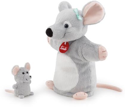 Handpuppe & Baby Maus