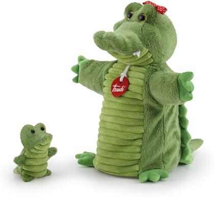 Handpuppe & Baby Krokodil