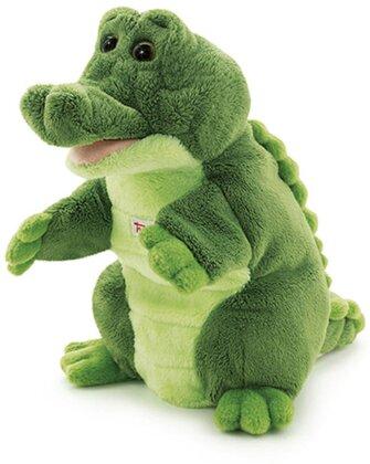 Handpuppe Krokodil