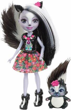 Enchantimals Stinktiermädchen Sage Skunk