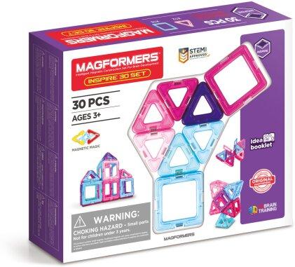 Magformers Inspire 30 Teile - kreatives Bauen mit
