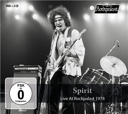 Spirit - Live At Rockpalast 1978 (CD + DVD)