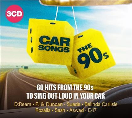 Car Songs - The 90'S (3 CDs)
