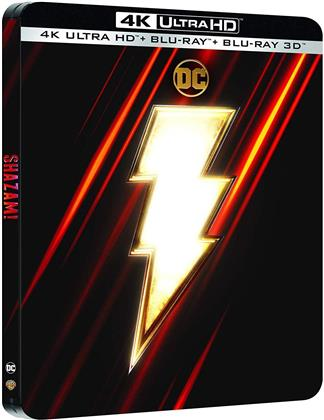Shazam! (2019) (Limited Edition, Steelbook, 4K Ultra HD + Blu-ray 3D + Blu-ray)