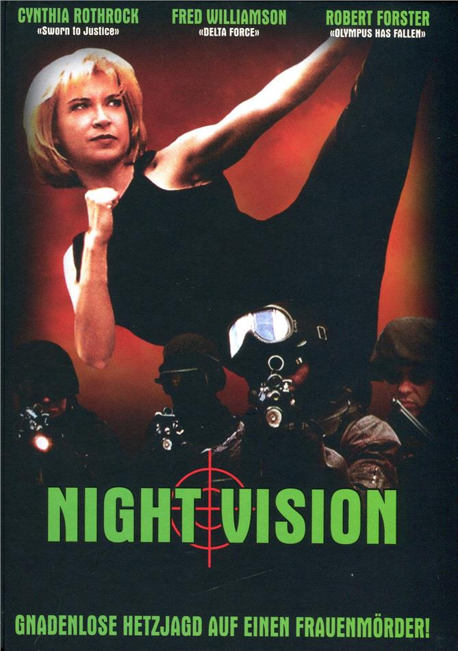 Night Vision (1997) (Cover E, Limited Edition, Mediabook, Uncut, Blu-ray + DVD)