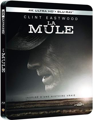 La Mule - The Mule (2018) (Limited Edition, Steelbook, 4K Ultra HD + Blu-ray)