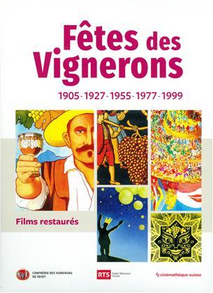 Fêtes des Vignerons - 1905-1927-1955-1977-1999 (Restaurierte Fassung, 2 DVDs)
