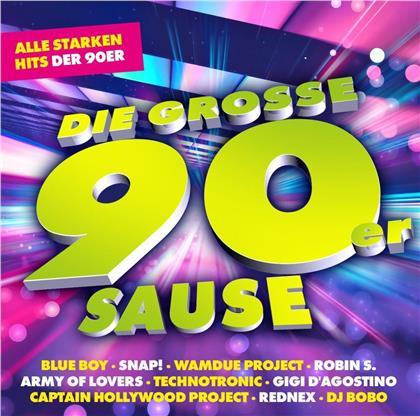 Die Grosse 90er Sause - Alle Starken Hits Der 90er (2 CDs)