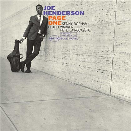 Joe Henderson - Page One (2019 Reissue, Blue Note, LP)