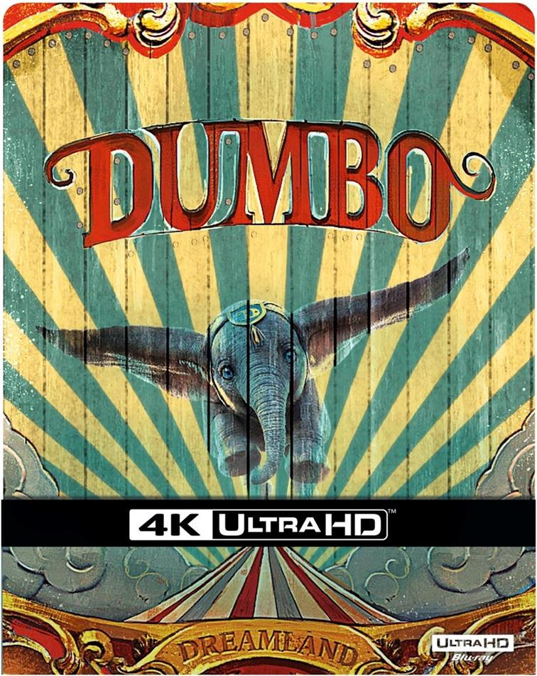 Dumbo (2019) (Limited Edition, Steelbook, 4K Ultra HD + Blu-ray)